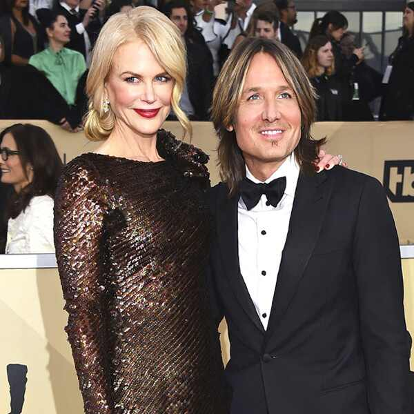 Nicole Kidman, Keith Urban, SAG Awards, Couples